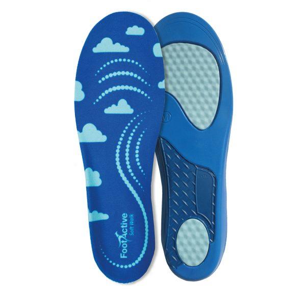 FootActive Soft Walk - Extra mjuk och bekväm inläggssula